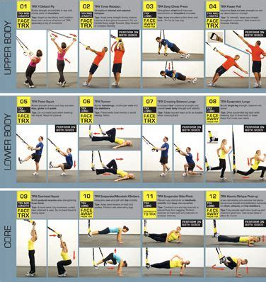 17 best images about trx workouts on trx