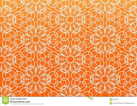 orange pattern vector flower vector pattern royalty free stock photography