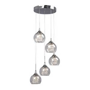 Multi Pendant Lighting Galaxy Lighting 916095ch 5 Light Rihanna Multi Light Pendant Atg Stores