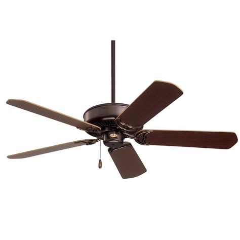 Low Profile Ceiling Fans With Led Lights Oakhurst 52 In Led Indoor Low Profile New Bronze Ceiling Fan With Light Kit 52016 The