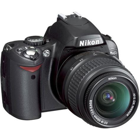 Kamera Nikon D40 Kit used nikon d40 slr digital kit with 18 55mm lens 25420b