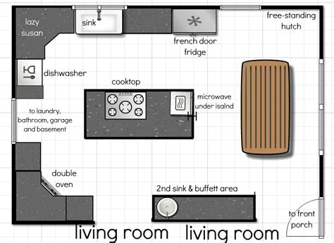 floor plan for kitchen our kitchen floor plan a few more ideas andrea dekker