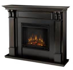 Black Electric Fireplace 48 Quot Black Electric Fireplace