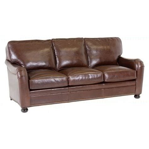 Classic Leather Sofa Classic Leather Sandberg Sofa 68 Leather Furniture Usa