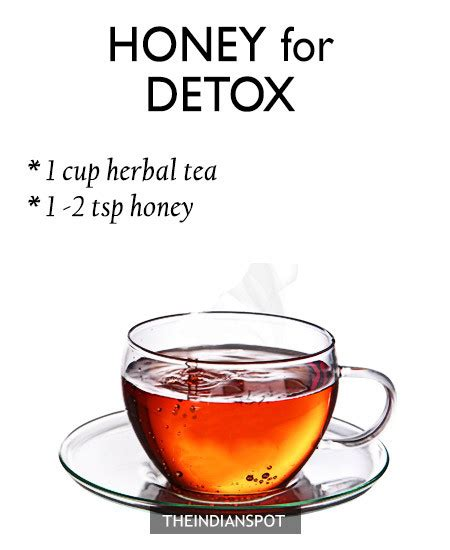 Honey Detox Treatment by Top Home Remedies Using Honey