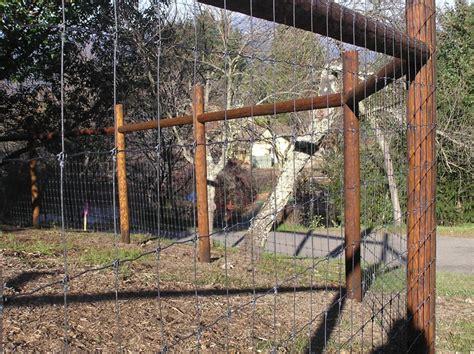 Deer Fence Door - decorative deer fence ideas and photos