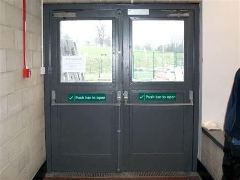 Exit Doors exit doors exit with drop bars vets nottingham