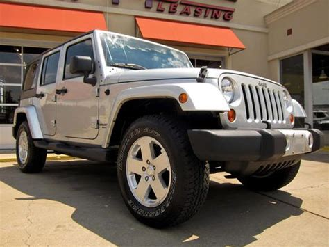 2011 Jeep Wrangler Unlimited Owners Manual Buy Used 2011 Jeep Wrangler Unlimited 4x4 1 Owner