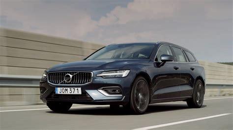 2019 Volvo V60 D4 by 2019 Volvo V60 D4 Inscription Denim Blue Driving