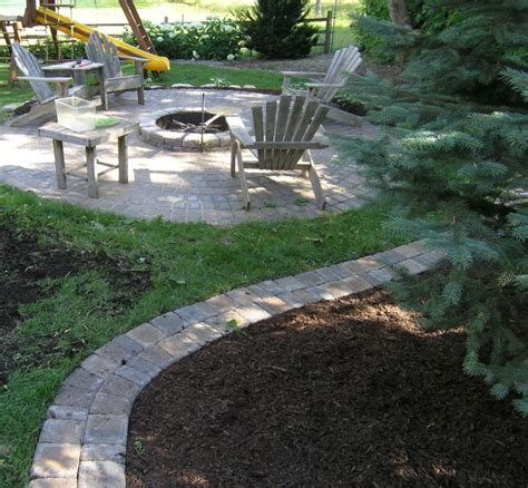 Landscape Edging With Pavers Landscape Edging Plymouth Mn And Delano Minnesota