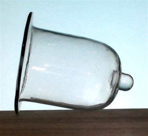 Flat Glass Candle Holders Hanging Candle Holder Flat With Peg 4 25 X 5 25 Clear