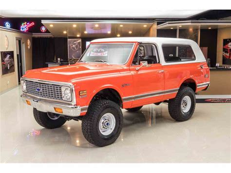 1972 chevrolet blazer k5 4x4 for sale classiccars cc 1030171