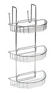 3 tier shower rack stainless steel blue