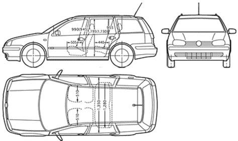 auto vw golf wagon mk iv  bild bild zeigt abbildung zeichnungen schematisch auto