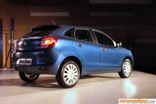 Mechanical Engineering In Maruti Suzuki Maruti Suzuki Baleno Launched In India At Rs 5 08 Lakhs