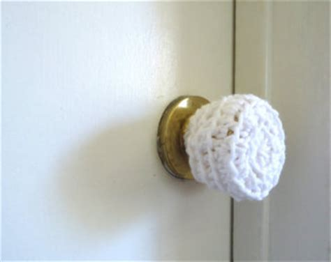 5 crochet door knob cover child safety cover crochet