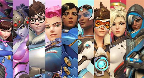 hot female overwatch characters overwatch blizzard s team based fps is making strides