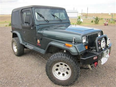 automotive air conditioning repair 1994 jeep wrangler auto manual purchase used jeep wrangler sahara 1994 yj in strasburg colorado united states