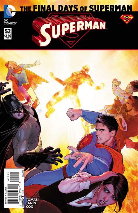 Superman Vol 3 Multiplicity Rebirth Tp Tomasi Comic Komik Dc Book superman vol 3 52 dc database fandom powered by wikia