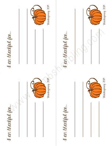 turkey thankful card template free i am thankful free thanksgiving printable