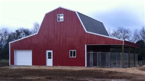 gambrel barn kits easy to pole barn plans ohio gatekro