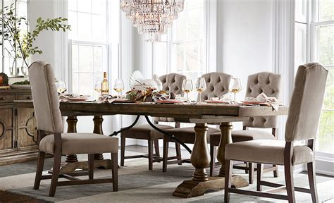 pottery barn dining room furniture pottery barn style dining rooms 14438