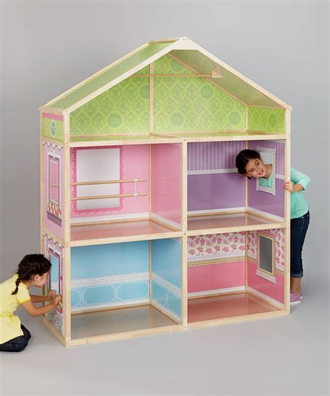 zulily houses dollie me 18 exclusive wood dollhouse zulily gift ideas pinterest doll houses