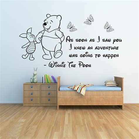winnie the pooh wall stickers 3 baby wall stickers girls
