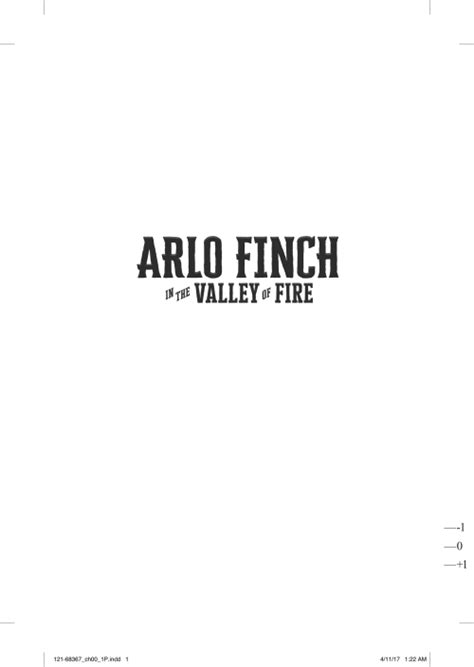 arlo finch in the valley of books arlo finch