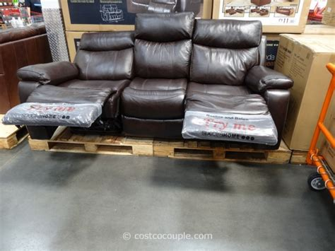 Power Recliners Costco by Spectra Dakoda Power Motion Leather Sofa