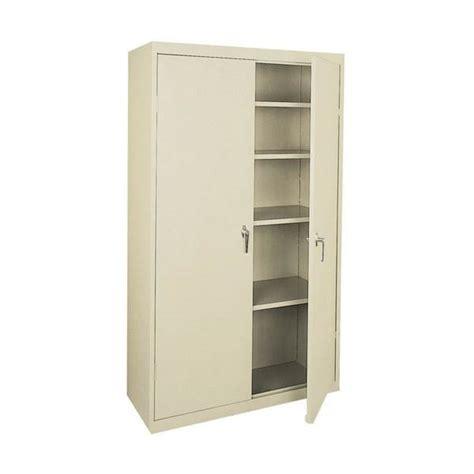 sandusky welded steel storage sandusky lee four shelf steel storage cabinet