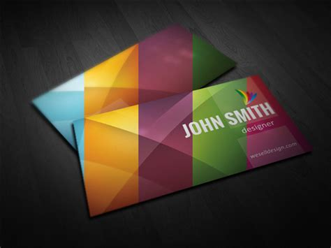free minimalist card template free minimal business card template 5 colors pixelsmarket