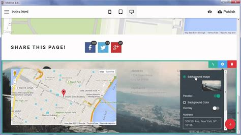 online responsive layout maker new blocks with google maps mobirise responsive layout