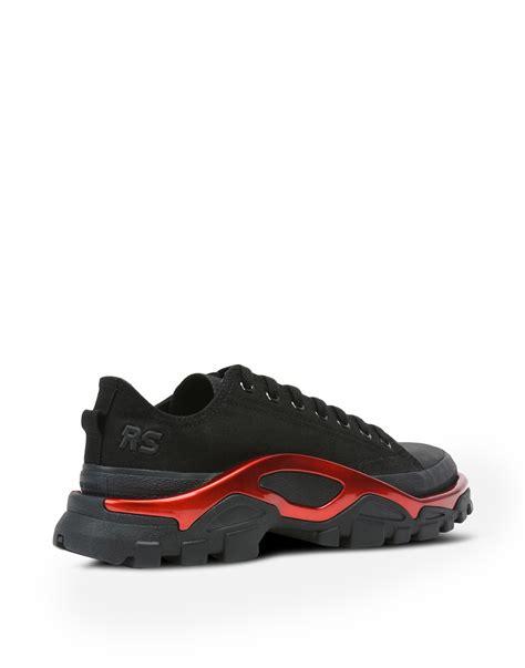 raf simons detroit runner sneakers in black adidas y 3 official store
