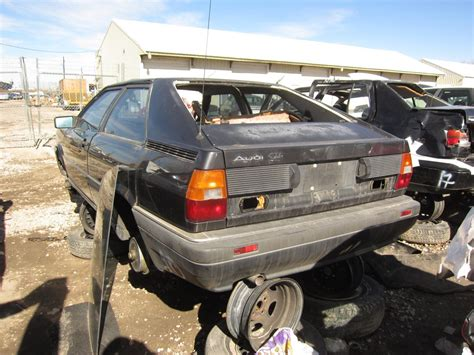 junkyard find 1986 audi coupe gt the truth about cars