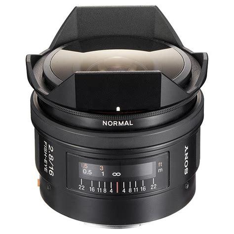 Sony Lens Sal 16mm F2 8 Fish Eye sony af 16mm f2 8 fisheye a mount lens info