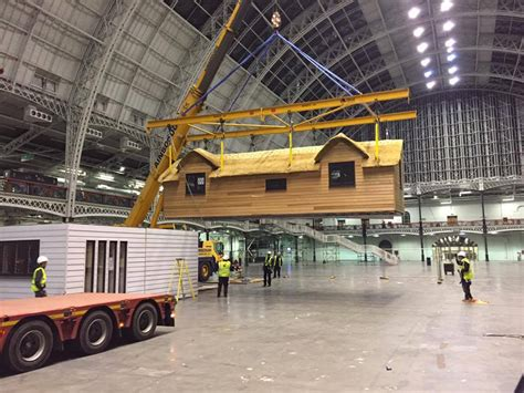 moving a modular home the ideal home show in london heart of england master
