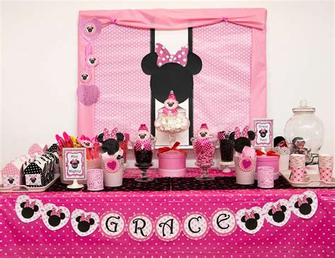 Minnie Mouse Birthday Decoration Ideas by 35 Best Minnie Mouse Birthday Ideas Birthday Inspire
