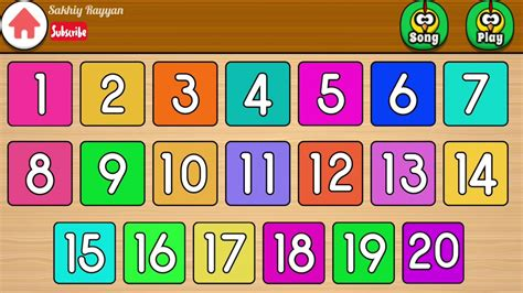 belajar mengenal angka    bahasa inggris learn
