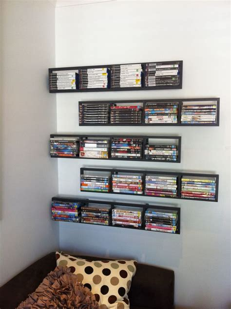 cd storage ideas ikea dvd storage google search home storage shelving bookcases pinterest wall mount