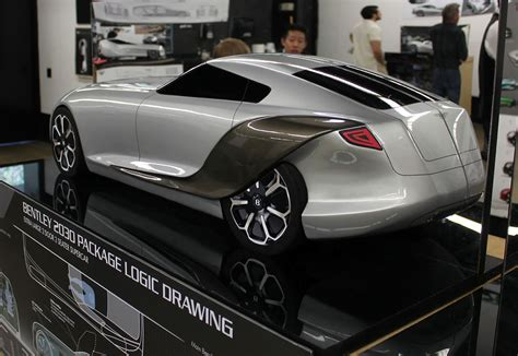 bentley  concept scale model car body design