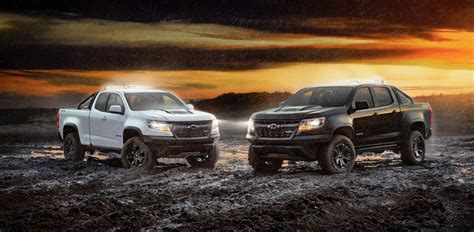 chevy colorado midnight edition 2018 chevy colorado zr2 midnight and dusk editions