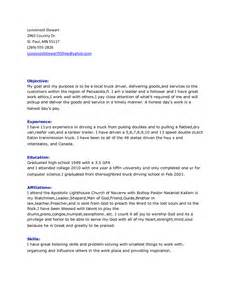 Curriculum Vitae Vs Cover Letter by Truck Driver Resume Best Template Collection