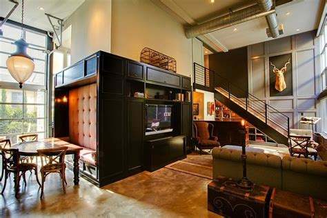 modern industrial home decor industrial retro interior design homeadore