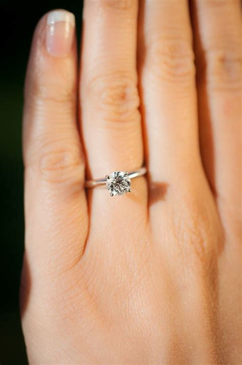 Engagement Rings On by Most Flattering Engagement Rings For Every
