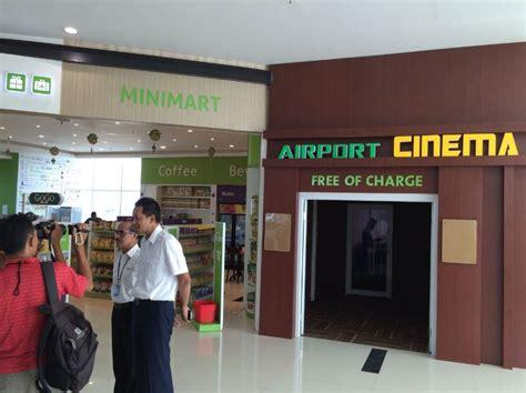 cineplex balikpapan pertama di indonesia bandara sepinggan menghadirkan