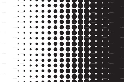 pattern dots gradient halftone dot pattern