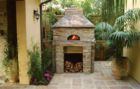 backyard wood fired pizza oven outdoor hip roof wood fired pizza ovens mediterranean