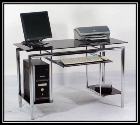 black glass computer desk picture42 jpg