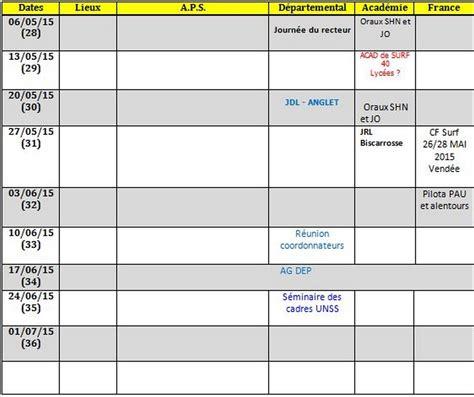 Calendrier 3 Trimestre 2015 Calendrier Unss 2014 2015 Lyc 233 E Joseph